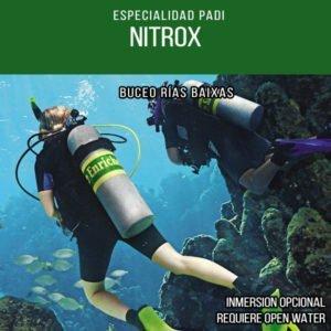 Buceo con aire enriquecido NITROX