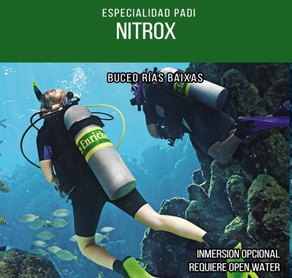 Curso de Buceo con Nitrox