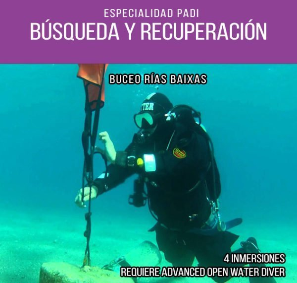 Búsqueda y Recuperación submarina