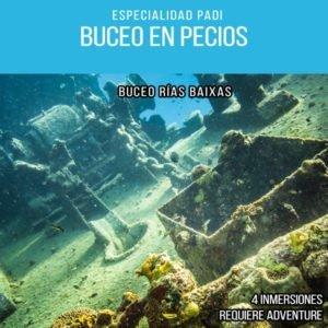 Buceo en Pecios