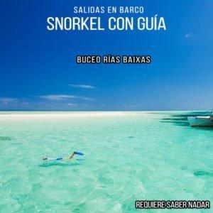 Paseo con Snorkel