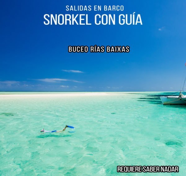 Paseos en Barco con Snorkel