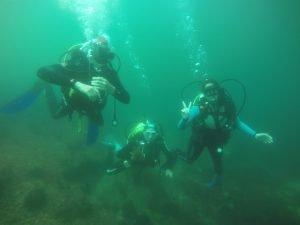 Curso buceo Open Water Diver en Galicia
