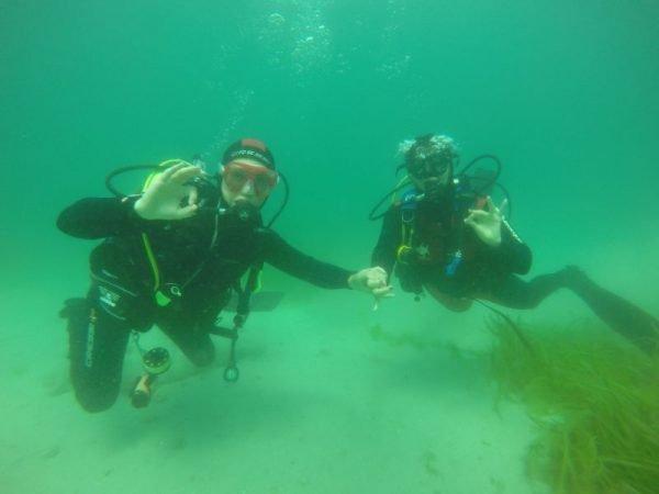 pedir matrimonio bajo el agua